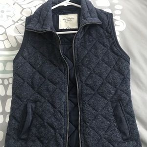 Abercrombie & Fitch Quilted Vest